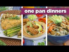 ONE PAN Healthy Sheet Pan Dinners! - Mind Over Munch - YouTube
