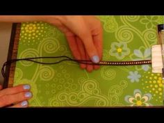 Love these with leather and metal beads. Great video DIY! Beaded Leather Wrap Bracelet