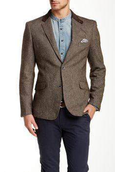 Wool Blend Blazer by Lindbergh on @HauteLook
