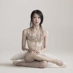 Ballerina Misa Kuranaga Principal dancer with Boston Ballet - Photo by Nisian Hughes