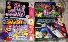 N64 Classics from Lukie Games! #supermariobrothers #starfox #badfurday #n64 #nintendo #gamer #gaming #videogames #retrogaming #gamergirl