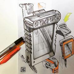 Solar pocket lamp concept #ID #idsketching #designsketching #productdesign #industrialdesign #metu #entas #design #sketch #sketching #sketchaday #sketchbook #sketch_daily #pen #ink #marker #concept #conceptdesign #drawing