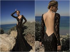 Meteor Evening Gown Galia Lahav Black he intricacy of the detail placed in these gowns is simply amazing. I want them all