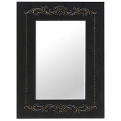Τα απλά λένε πολλά! Over The Door Mirror, Mirror Door, Cheval Mirror, Mirrors Wayfair, Centre Pieces, Black Velvet, Black Gold, Oversized Mirror, Frame