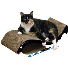 $18 Super fun cat scratchers now featured on Fab thru 7/19