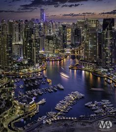 Dubai Marina by Mohamed Alwerdany on 500px: