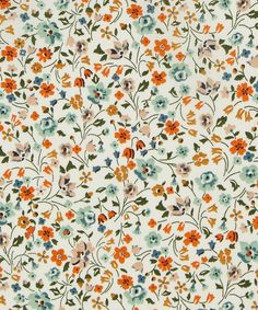 Liberty Art Fabrics Kimberly Sarah Tana Lawn Cotton | Fabric | Liberty.co.uk