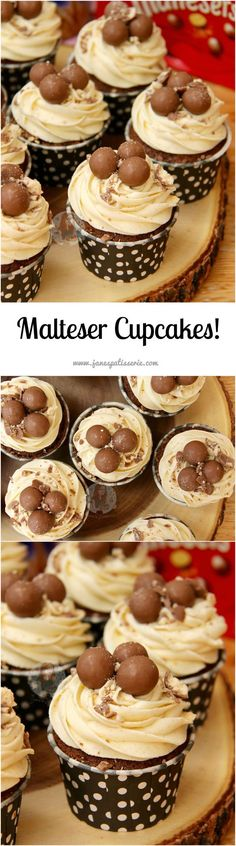 Malteser Cupcakes 19 Maltesers Recipes to Knock Your Socks Off | Via Stay at Home Mum.com