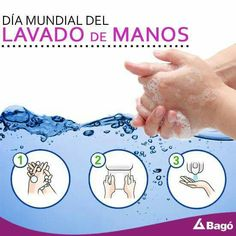 Hoy es el ¡Día Mundial del LAVADO de las MANOS!, instaurado desde 2008, año que fue designado el Año Internacional del Saneamiento por la Asamblea General de las Naciones Unidas, el Día Mundial del Lavado de Manos ha estado reforzando el llamado de extender mejores prácticas de higiene en todo el mundo, resaltando que esta práctica es una de las maneras más efectivas para PREVENIR ENFERMEDADES. http://on.fb.me/1GIYeqb #SaludyBienestarBagó