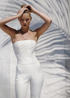 """""""Model Kate Moss"""" 1996, photo by American photographer BRUCE WEBER for Vogue US"""