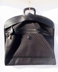 d81c0cdbf46 Vintage Gucci travel Garment bag  black monogram G logo