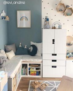 Childrens Room Decor, Baby Room Decor, Baby Boy Rooms, Little Girl Rooms, Baby Bedroom, Kids Bedroom, Girls Bedroom Storage, Baby Room Design, Cool Kids Rooms