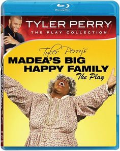 Blu-Ray Tyler Perry's Madea's Big Happy Family Movie Fun Laughter Matriarch