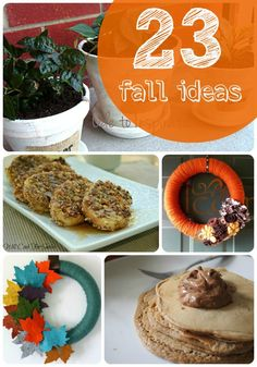 23 Fall Ideas -- Tatertots and Jello #DIY #Fall