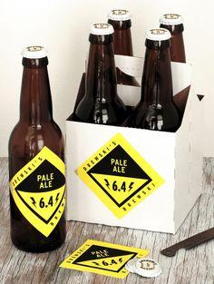 Custom Beer Labels Caps Home Brew bottle label by GarageMonk, $1.38