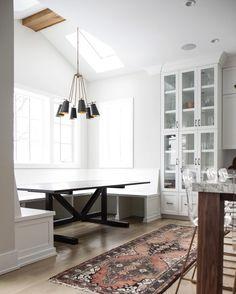 Park And Oak Design Kitchen With Antique Rug Black