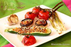 Petits farcis avec les légumes de Provence