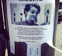 "This missing poster for poor Barb. | 31 Jokes Only ""Stranger Things"" Fans Will Find Funny"