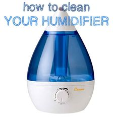 Humidifier | How To Clean (Almost) Anything And Everything