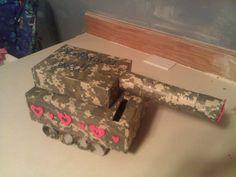 army tank valentine box