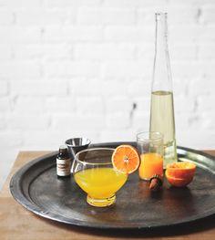 Clementine Gin Fizz
