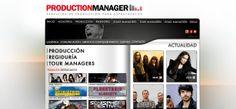 www.productionmanager.es web realizada den 2010 Den, Highlights