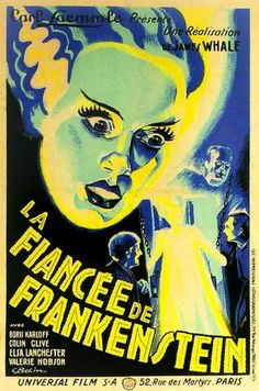 French poster for The Bride Of Frankenstein (1935)