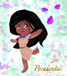 Chibi Pocahontas   Disney Princess Chibi...