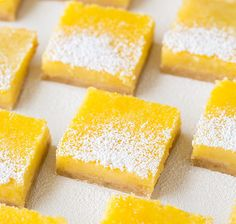 Hint of Summer Lemon Bars - One of the best lemon bar recipes around. Soft with just the right amount of lemon.