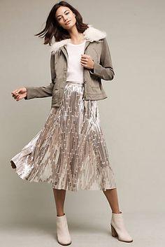 Eclat Midi Skirt