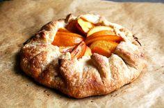 Peach Frangipane Galette, a recipe on Food52