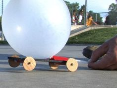 Balloon Powered Car - The Lab