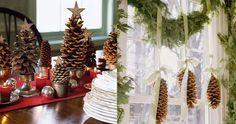 decoração mesa natal - Pesquisa Google