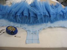 трусы для пачки a great article on what goes into tutu construction. One professionally-made tutu takes 80 hours.really makes you appreciate a fully-costumed ballet! Ballet Beau, Tutu Ballet, Ballet Dance, Tutu Tutorial, Cosplay Tutorial, Techniques Couture, Sewing Techniques, Sewing Hacks, Sewing Tutorials