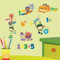 Popular Characters Team Umizoomi Wall Decal