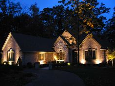 outdoor landscape lighting ideas