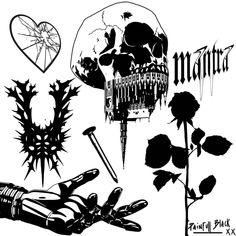 Funny Comedy, Flash Art, Crayon, Black Tattoos, Blackwork, Art Sketches, Drawing, Tattoo Designs, Texture