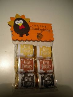 Stampin' Up!, turkey punch art. So cute!