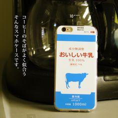 iPhoneSE/6s/6sPlus/5s対応TPU素材ソフトカバー★おいしい牛乳★<ミルク/モチーフ/スマホケース/iphoneケース/アイフォンケース/スマホカバー/iphoneカバー>