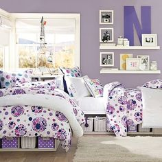 Store-It Bed + Corner Unit Sets #pbteen