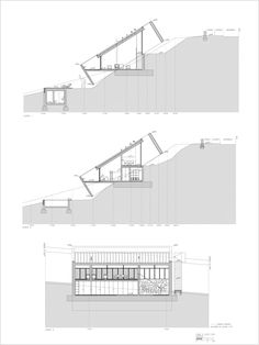 fideliohaus — Two Houses in Ponte de Lima, Portugal by Eduardo. Architecture Blueprints, Water Architecture, Architecture Concept Drawings, Architecture Board, Sustainable Architecture, Residential Architecture, Contemporary Architecture, Architecture Design, Houses On Slopes