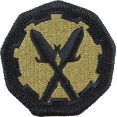 290th Military Police Brigade MultiCam (OCP) Patch