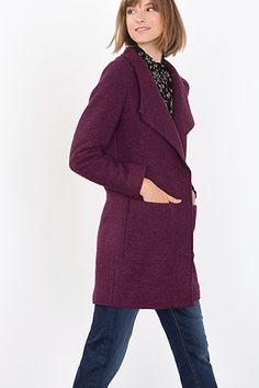 Esprit - Frakke af kogt uldblanding i Esprits Online-Shop