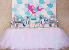 BARBIE Mermaid Backdrop Banner Artwork by SweetScarletDesigns