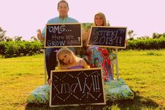 Baby reveal, pregnancy reveal, announcement