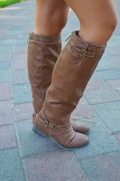 The Outlaw Boots - Tan