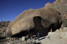 Living under a rock