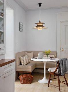 Дизайн кухни с диваном 10 кв м - примеры расположения, фото, видео