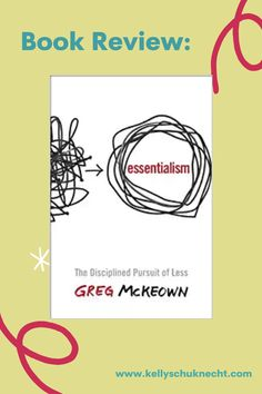 Essentialism #BookReview