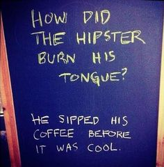 Hipster quote